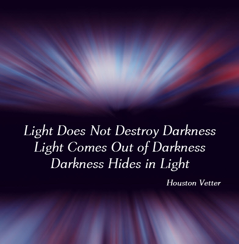 Light does not destroy Darkness